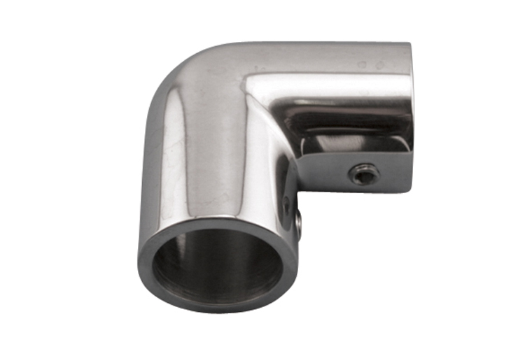 Stainless Steel Rail Elbow, Railing and Bimini, S3665-0900, S3665-0901