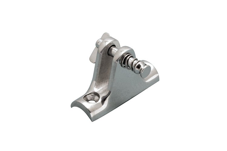 Stainless Steel Deck Hinges - 90 Degree and Concave, Railing and Bimini, S3682-3001