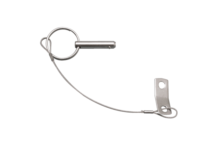 Stainless Steel Lanyard with Pin, Railing and Bimini, S3685-0000