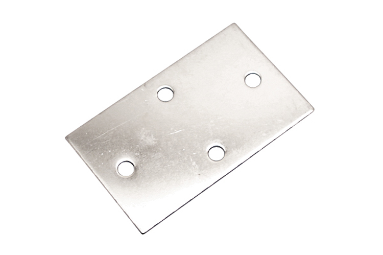Stainless Steel Heavy Duty Diamond Back Plate, S3702-BP00, S3703-0001