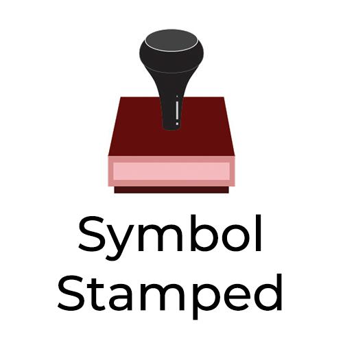 Symbol Stamped