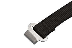 Product Image for Nylon Webbing Assembly with Stainless Steel Flat Hook, S0233-0