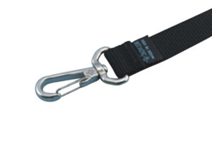 Product Image for Nylon Webbing Assembly with Stainless Steel Swivel Clip, S0235-0004