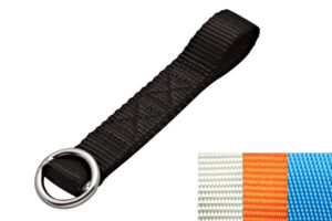 Product Image for Ski Tie-Down, Nylon Webbing with Stainless Steel Ring, S0238