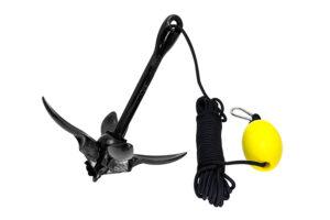 G8001-MKII-BLACK-OPEN_Folding Grapnel Anchor